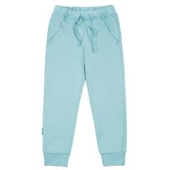 Голубые брюки для мальчика на резинке