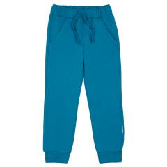 Синие брюки для мальчика на резинке