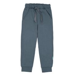 Темно-серые брюки для мальчика на резинке